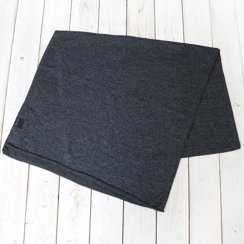 CANADA GOOSE『KNIT JERSEY SCARF』(BLACK HEATHER)