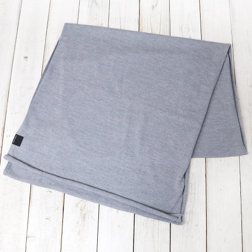 『KNIT JERSEY SCARF』(HEATHER GREY)