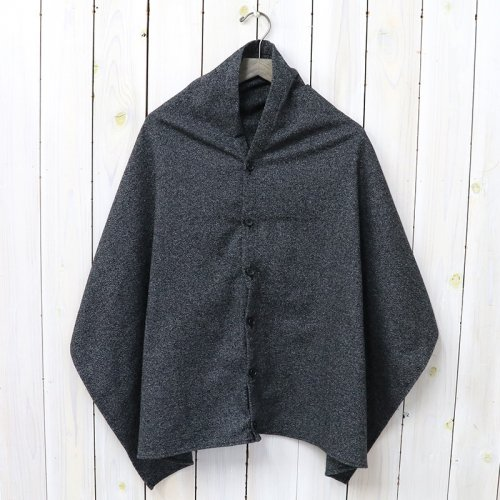 『Button Shawl-Wool Homespun』