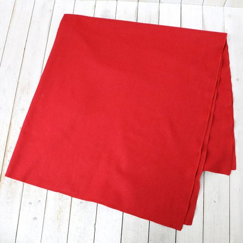 『Blanket Cape-Wool Melton』(Red)