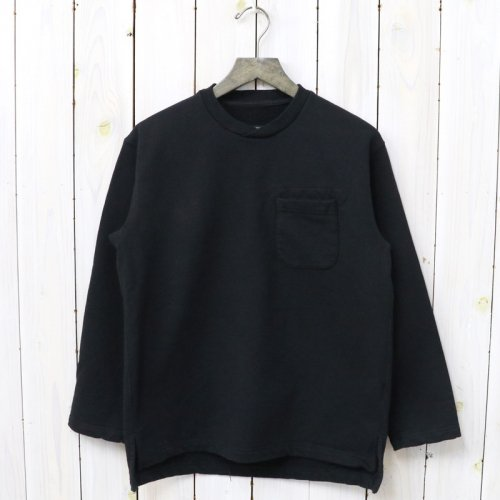 『Long Sleeve Crew Neck-20oz French Terry』