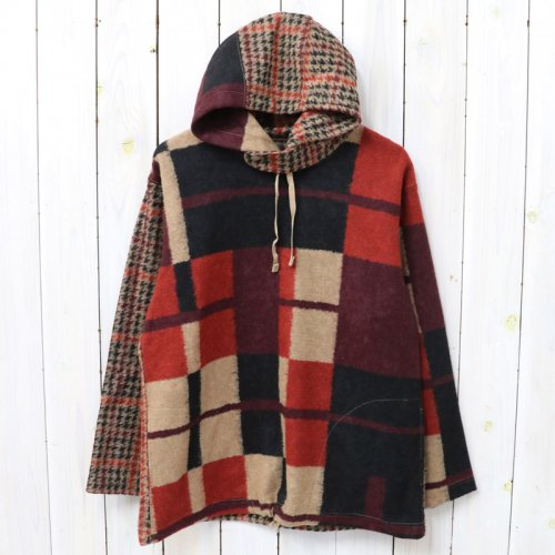 『Long Sleeve Hoody-Gun Club Multi Check Knit』