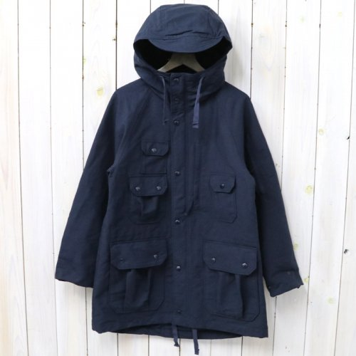 『Field Parka-Cotton Double Cloth』(Dk.Navy)