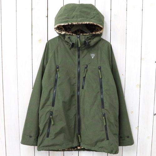 『Zipped Coat-Wax Coating』(Olive)
