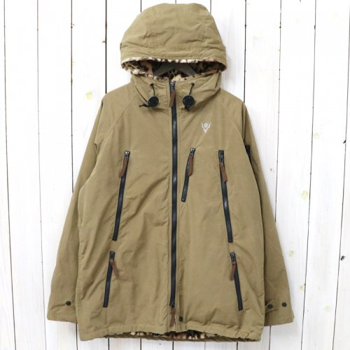 『Zipped Coat-Wax Coating』(Tan)