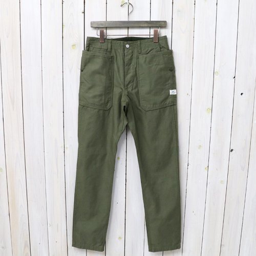 『FALL LEAF SPRAYER PANTS(BACK SATIN)』(OLIVE)