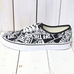 VANS『UA AUTHENTIC』((OTW REPEAT)BLACK/TRUE WHITE)
