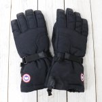 CANADA GOOSE『DOWN GLOVES』(BLACK)
