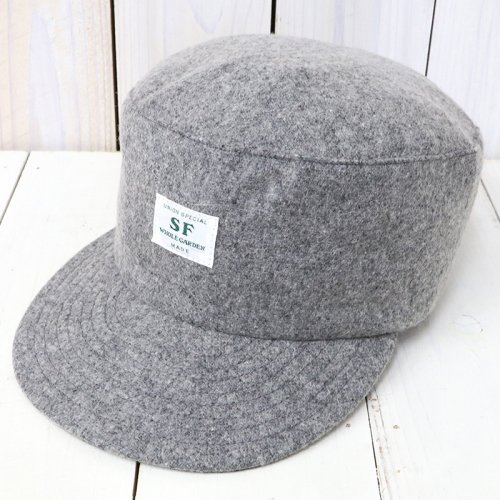 SASSAFRAS『SEEDS BOX CAP』(GRAY)