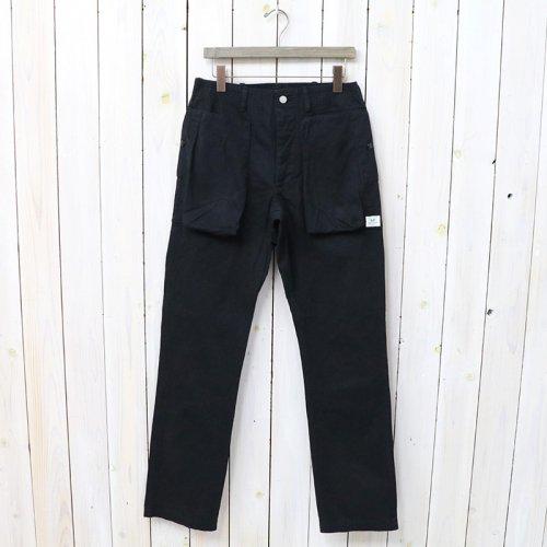 『DIGS CREW PANTS(HERRINGBONE)』(BLACK)