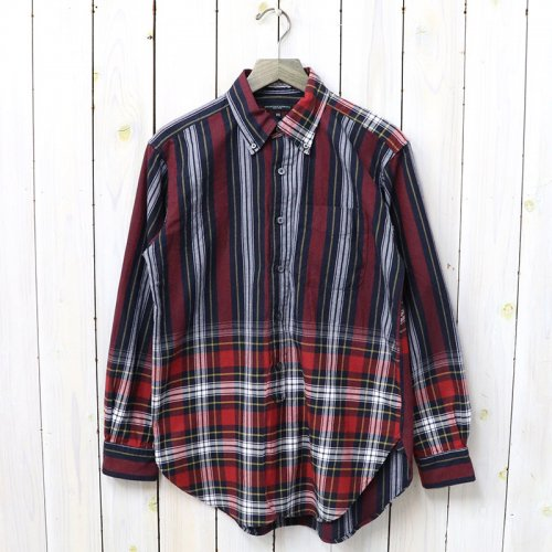 『19th BD Shirt-Leggiuno Plaid & St.』