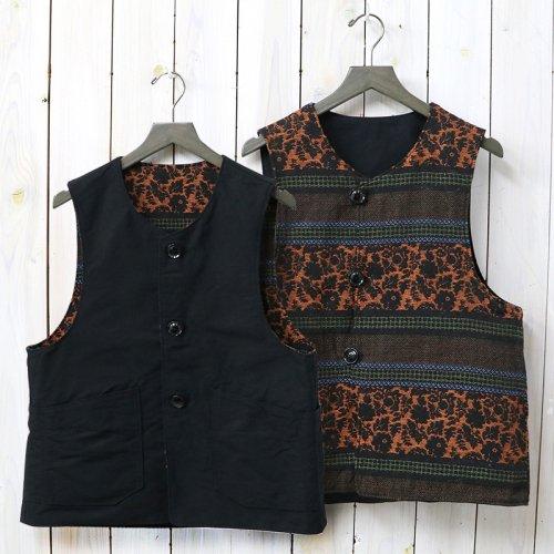 『Over Vest-Jacquard/Cotton Double Cloth』