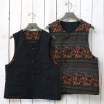 ENGINEERED GARMENTS『Over Vest-Jacquard/Cotton Double Cloth』