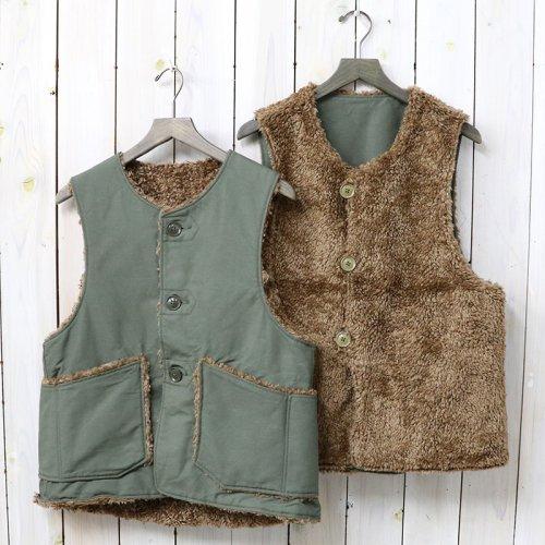 『Over Vest-Cotton Double Cloth』