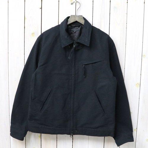 『Driver Jacket-Cotton Double Cloth』(Black)