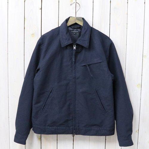 『Driver Jacket-Cotton Double Cloth』(Dk.Navy)