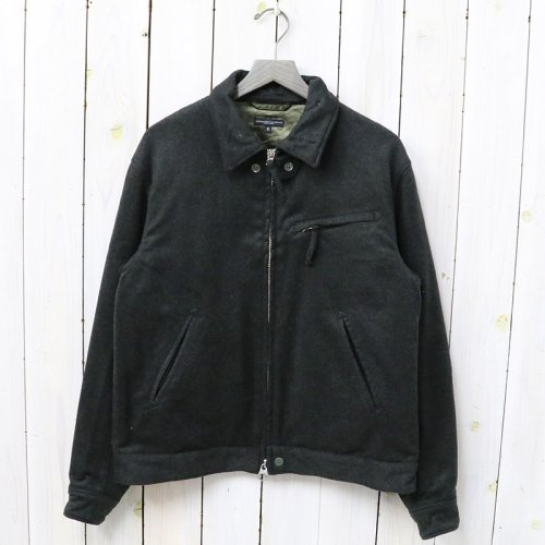 『Driver Jacket-Wool Loden Cloth』