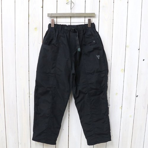 『Belted Center Seam Pant-Wax Coating』(Navy)