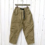 SOUTH2 WEST8『Belted Center Seam Pant-Wax Coating』(Tan)