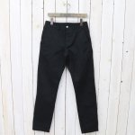 SASSAFRAS『SPRAYER PANTS(CHINO)』(BLACK)