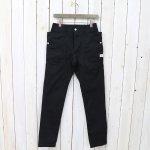 SASSAFRAS『FALL LEAF SPRAYER PANTS(CHINO)』(BLACK)