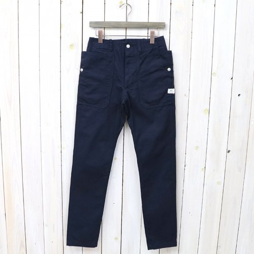 SASSAFRAS『FALL LEAF SPRAYER PANTS(CHINO)』(NAVY)