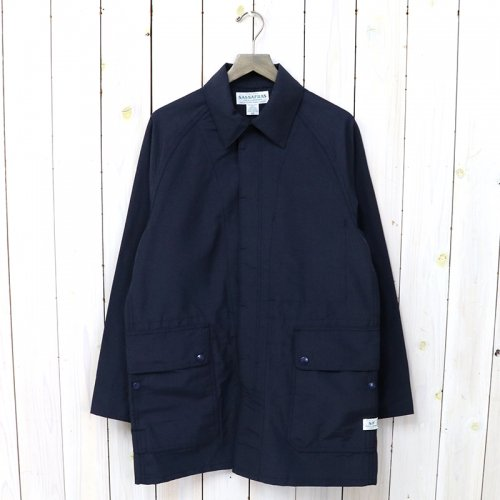SASSAFRAS『FALL LEAF COAT(60/40)』(NAVY)