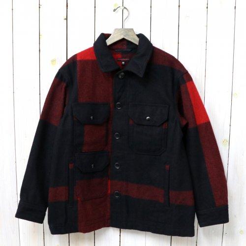 『Cruiser Jacket-Big Plaid Wool Melton』(Black)