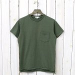 ENGINEERED GARMENTS WORKADAY『Crossover Neck Pocket Tee』(Olive)