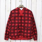 SASSAFRAS『GARDENIA HUNTER JACKET(PRINT FLANNEL)』(RED)