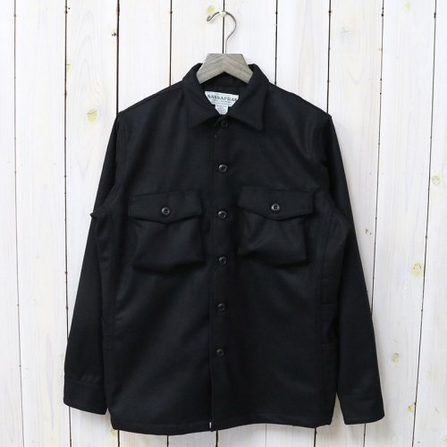 『GARDENER HALF(WOOL FLANNEL)』(BLACK)