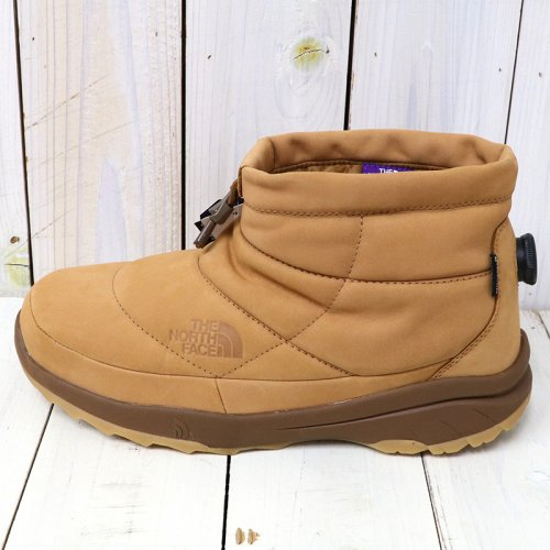 『Nuptse Bootie Mini WP Leather』(Brown)