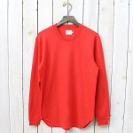 CURLY『NOMADIC LS TEE』(INK RED)