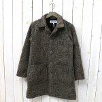 ENGINEERED GARMENTS WORKADAY『Shop Coat-Tri Blend Wool Tweed』(Brown)