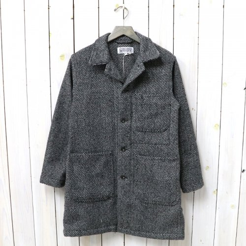 『Shop Coat-Tri Blend Wool Tweed』(Grey)