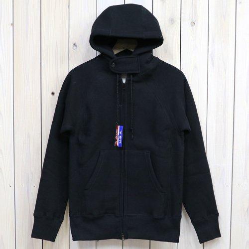 『Raglan Zip Hoody』(Black)