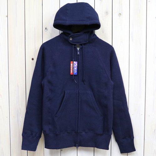 『Raglan Zip Hoody』(Navy)
