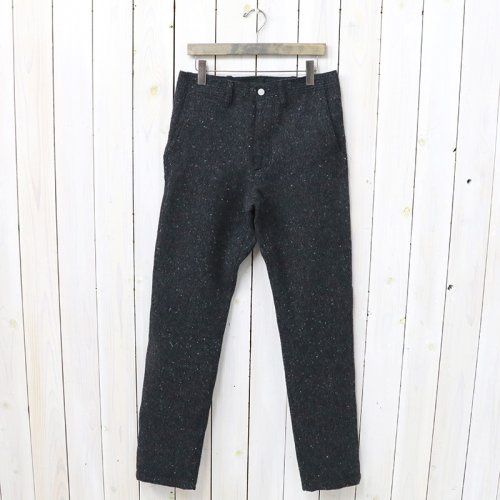 SASSAFRAS『SPRAYER PANTS(BLANKET)』(CHARCOAL)