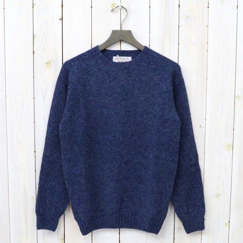 『Crew Neck Sweater-Saddle』(Denim)