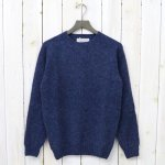 INVERALLAN『Crew Neck Sweater-Saddle』(Denim)