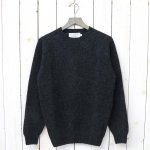 INVERALLAN『Crew Neck Sweater-Saddle』(Charcoal)