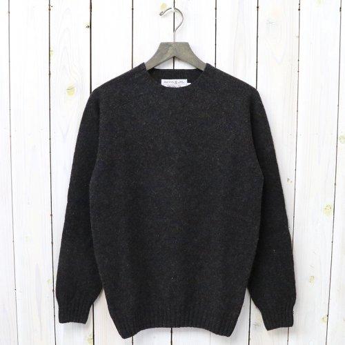 INVERALLAN『Crew Neck Sweater-Saddle』(Midnight)