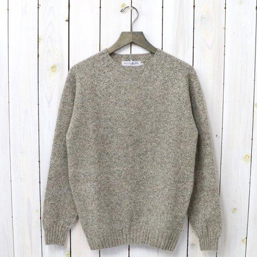 『Crew Neck Sweater-Saddle』(Mushroom)
