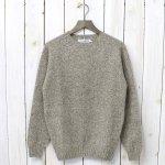 INVERALLAN『Crew Neck Sweater-Saddle』(Mushroom)