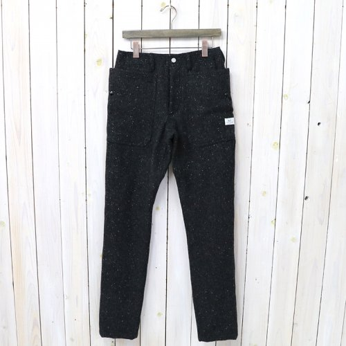 『FALL LEAF SPRAYER PANTS(BLANKET)』(CHARCOAL)