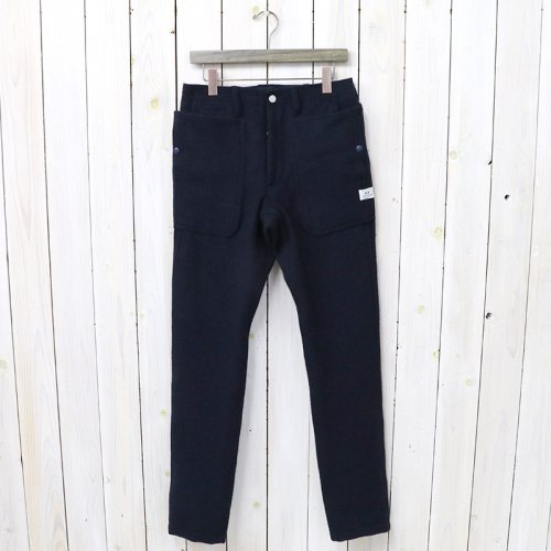 『FALL LEAF SPRAYER PANTS(BLANKET)』(NAVY)