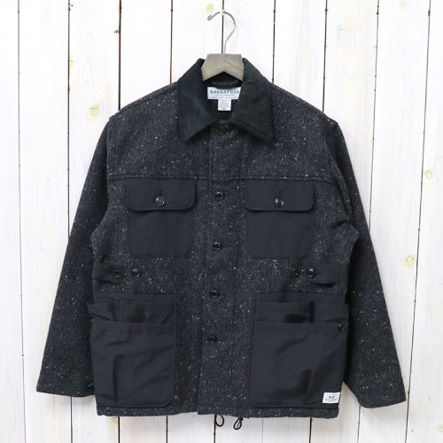 『GARDEN HOLE JACKET(BLANKET)』(CHARCOAL)