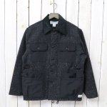 SASSAFRAS『GARDEN HOLE JACKET(BLANKET)』(CHARCOAL)