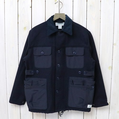 『GARDEN HOLE JACKET(BLANKET)』(NAVY)