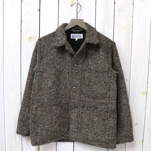 『Utility Jacket-Tri Blend Wool Tweed』(Brown)